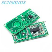 Módulo de sensor de radar de microondas RCWL 0516, detección de movimiento humano, módulo inteligente, 10 Uds.