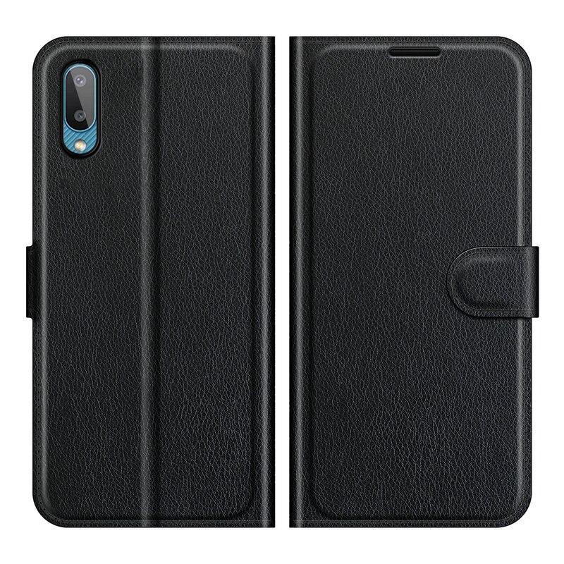 Чехол-бумажник для Samsung Galaxy A02 SM-A022F A022G M02 M022F, кожаный чехол-книжка