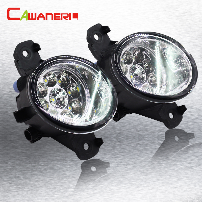Cawanerl 1 Pair Car Styling Fog Light DRL Daytime Running Light <font><b>LED</b></font> Light Lamp 12V For <font><b>Renault</b></font> <font><b>Master</b></font> <font><b>3</b></font>/III Box (FV) 2010-2015 image