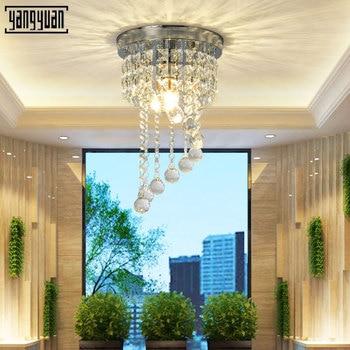 Ceiling Lights Indoor Crystal Lighting LED Suspension Hanging Modern LED Ceiling Lamp For Living Dining Bed Room Home Decoration