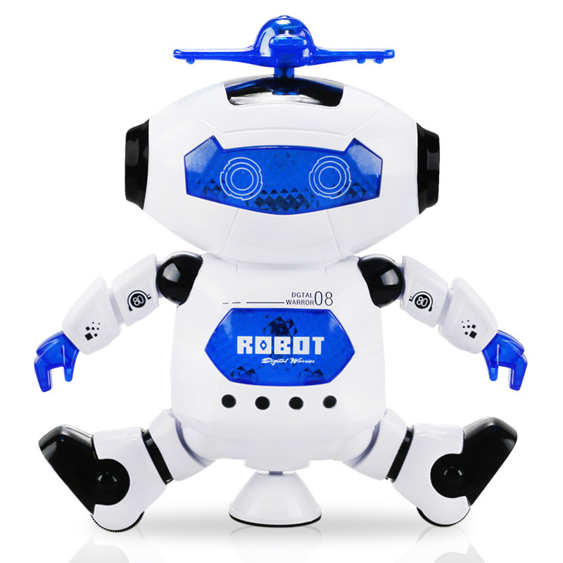 Dancing Robot Electric Stall Hot Selling Toy Dancer Machinery Light Music Rotating Dancer Manufacturers Direct Selling