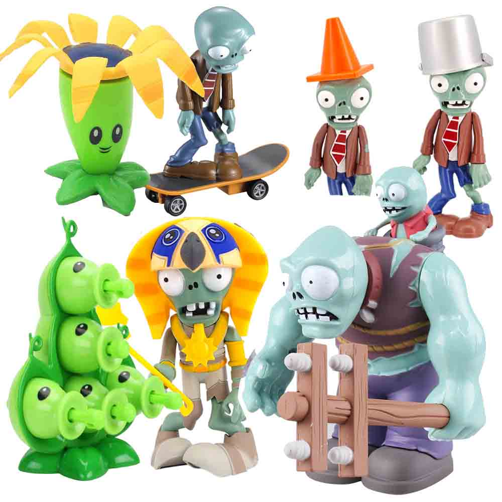 Plants VS Zombies PVC Action Figure Set Collectible Figure Model Toy Gifts Toys For Children High Quality Brinquedos