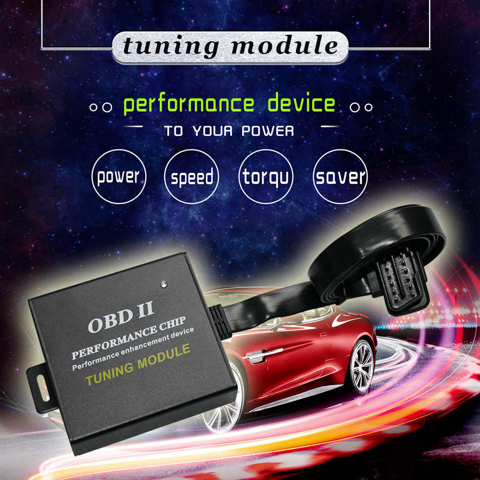 Fit for 4 BMW 3 Series E36 E46 E90 F30 Performance Tuner Speed Chip OBDII Module
