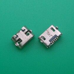 100 pçs/lote Micro USB jack conector Para Huawei Y5 II CUN-L01/Para O Amazon Kindle Fire 5th Gen SV98LN USB tomada Plugue Porta