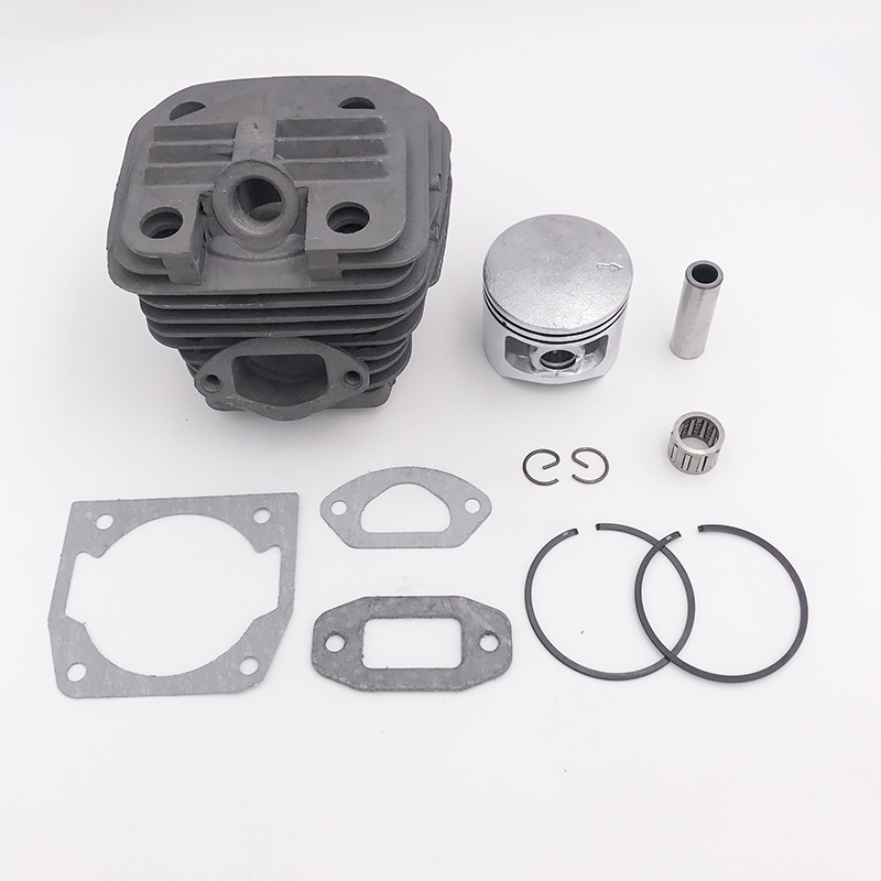 43mm 45mm 45.2mm Chainsaw Cylinder Piston Needle Cage Gasket Kit For 4500 45cc 5200 52cc 5800 58cc Gasoline Chainsaw Spare Parts