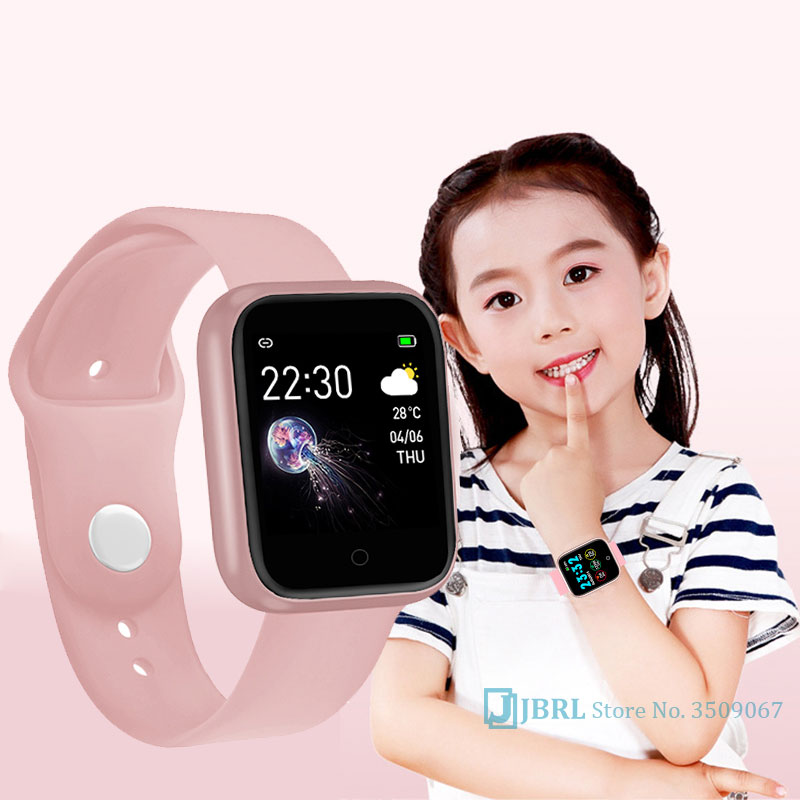 NEW Hd Electronic Watch For Kids Waterproof Led Digital Watch Baby Teen Clock Children Fitness Band Android IOS Bluetooth Gifts