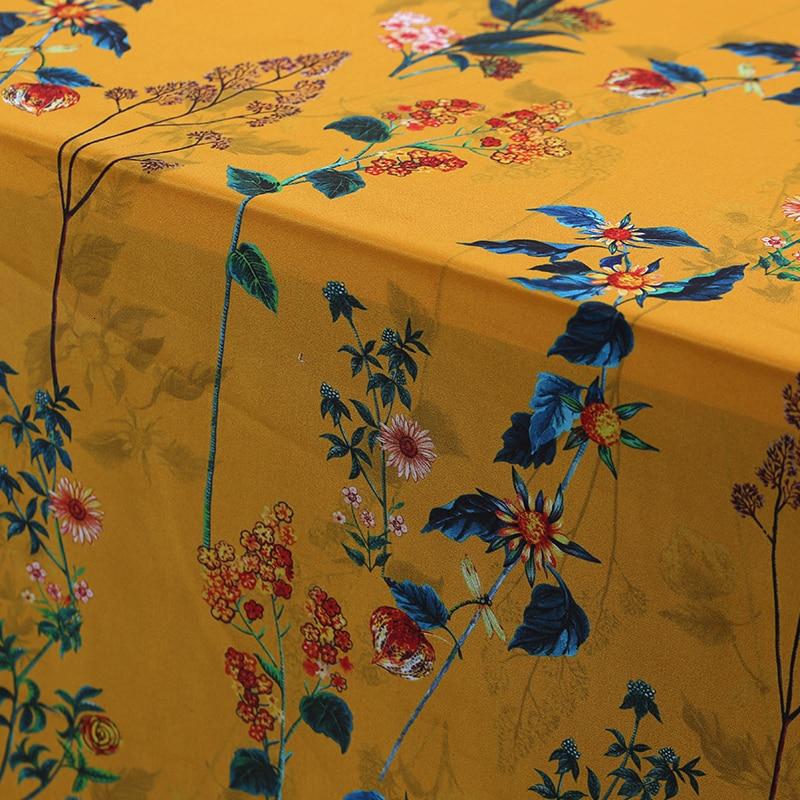Large 114cm 14MM impression en soie véritable matériel jupe de mûrier