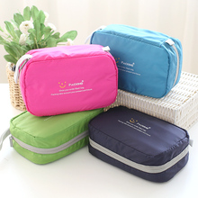 Women Men Travel Kit wash bag waterproof travel essential portable outdoor pouch Cosmetic Make Up Wash Toiletry Bag