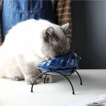 DannyKarl Dog Bowl Pet Tableware Porcelain Senior Teddy Retriever Size Spot Wholesale Universal Cat Small