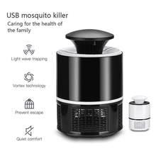 USB LED électrique moustique tueur lampes Anti moustique lumières mouche insecte piège à insectes Zapper lampe fournitures d'été