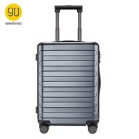 NINETYGO 90FUN 24 zoll PC Koffer Roll Gepäck Tragen auf Spinner Räder TSA Lock Business Urlaub für Frauen Männer-in Hartschalen-Gepäck aus Gepäck & Taschen bei