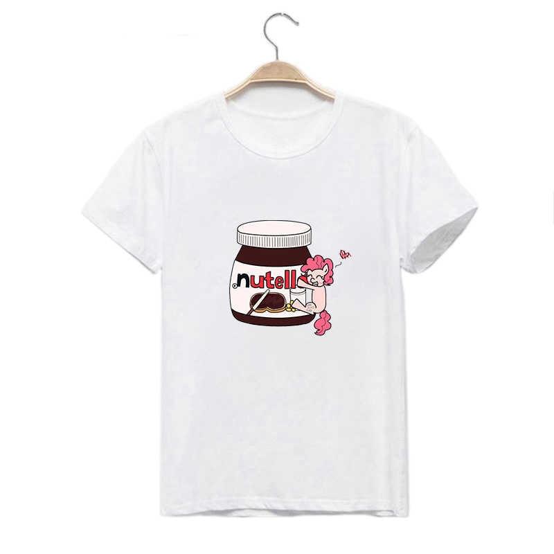 LUSLOS 패션 여성 T 셔츠 스푸핑 재미 있은 공주 만화 재미 있은 Femme Tshirts Streetwear 그래픽 티즈 여성 의류 2020