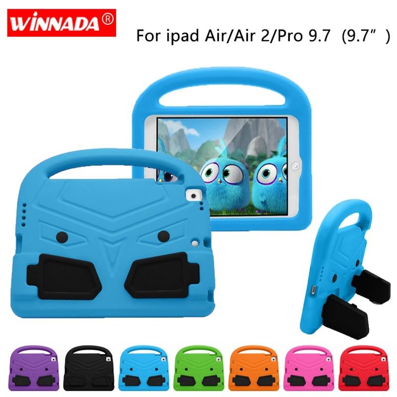 Per ipad Air 2 Caso per ipad pro 9.7 Bambini carino Tablet Protecter della copertura shock proof schiuma EVA tenuto in Mano Del Basamento cover per ipad Air
