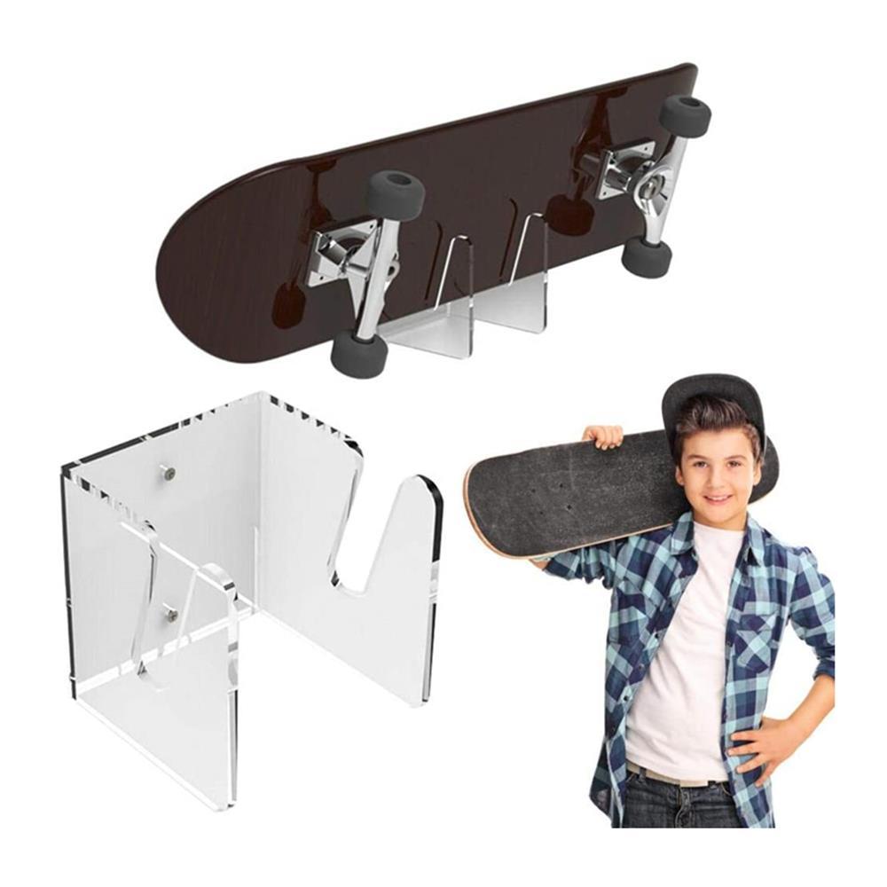 Skateboard Wall Hanger Wall Mount Sliding Plate Bracket Display Stand Longboard Supports Bracket Skateboard Wall Mount