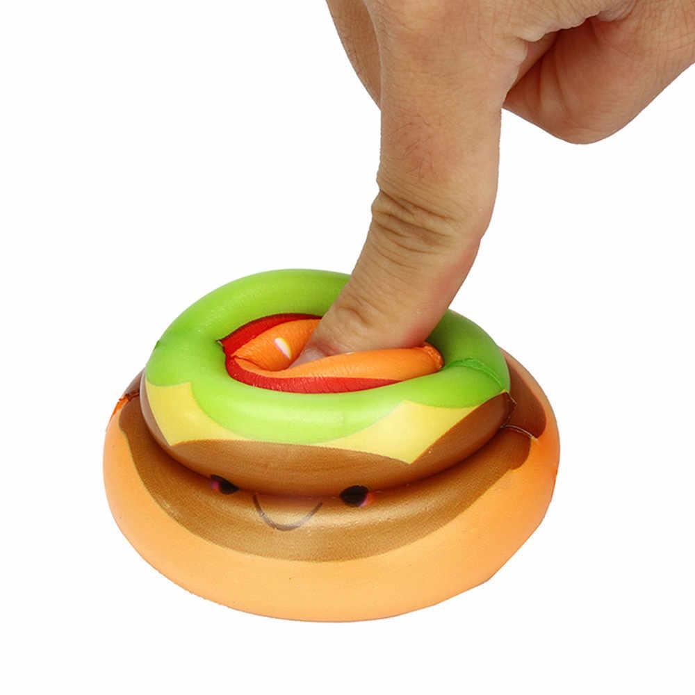 Squishies Kawaii יאמי מזון קקי איטי עולה קרם ריחני Rtress הקלה צעצועים רך מקסים צעצועים לילדים בנות # G2
