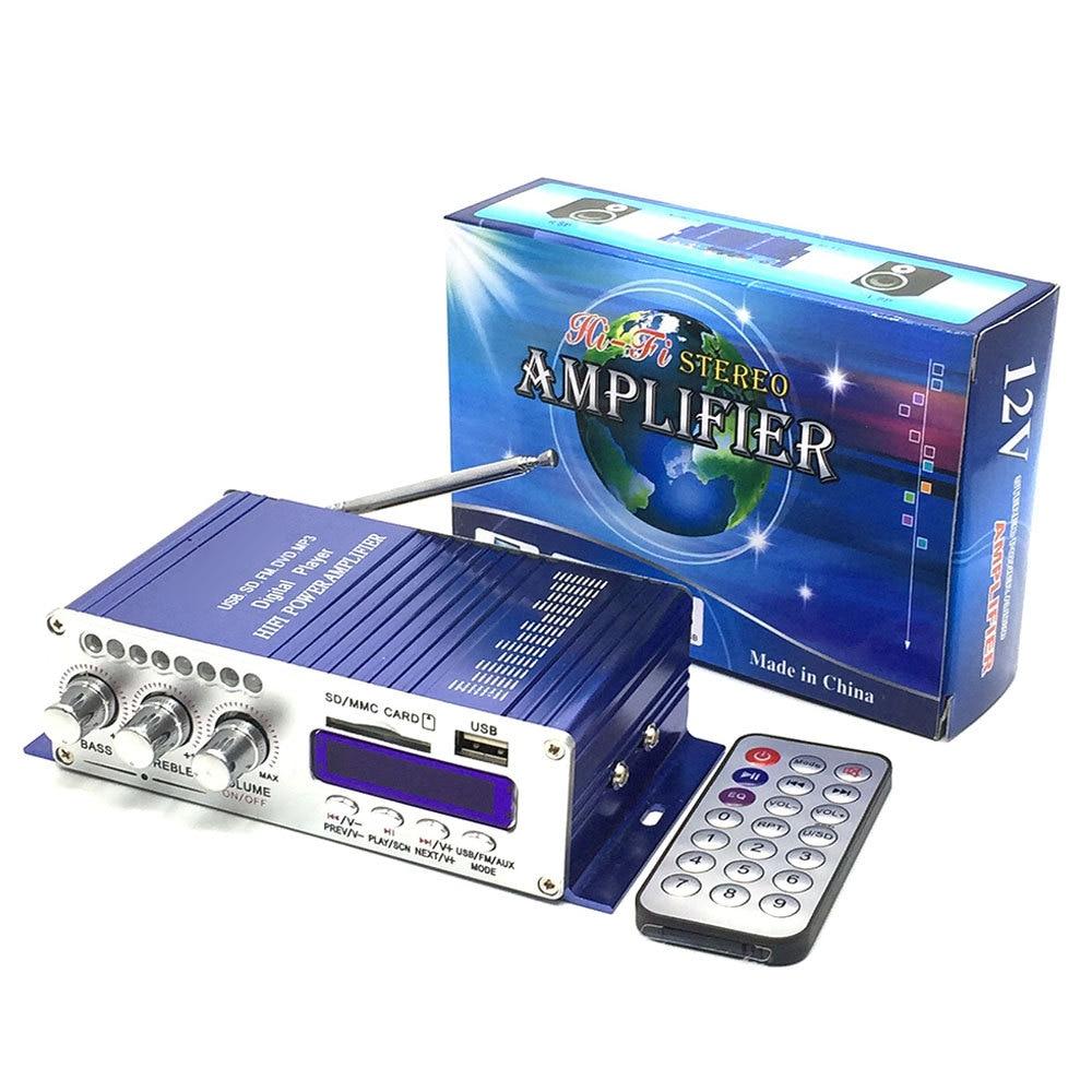 bluetooth amplificador de potencia do carro modo som estereo alta fidelidade 2 canais mini fm audio
