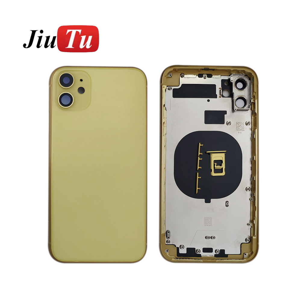 back Middle Frame Chassis Full Housing Assembly Battery Cover Door Rear with Flex Cable (11)