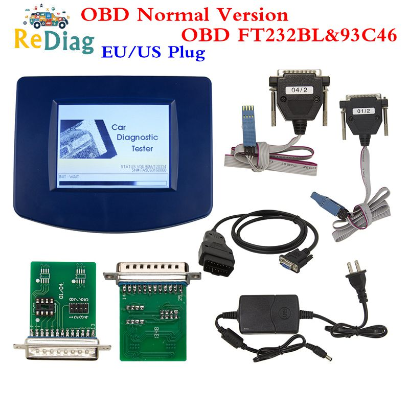 DigiprogIII V4.94 Digiprog 3 avec OBD2 ST01 ST04 câble odomètre outil de correction Digiprog3 FTDI puce meilleure qualité avec prise ue/US