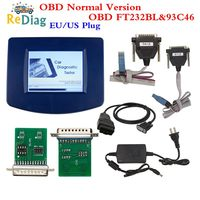 DigiprogIII V4.94 Digiprog 3 with OBD2 ST01 ST04 cable odometer correction tool Digiprog3 FTDI Chip Best Quality with EU/US Plug