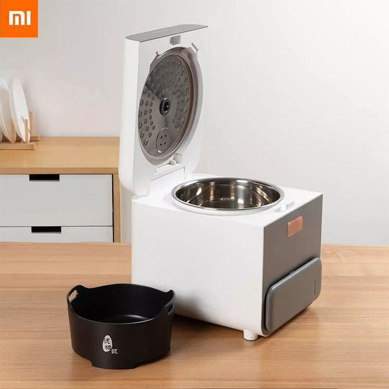 Xiaomi Mijia Zhenmi Electric Rice Cooker 3L Stainless Steel Inner Pot Intelligent Automatic Household Kitchen Cooker Desalted|Smart Remote Control| - AliExpress