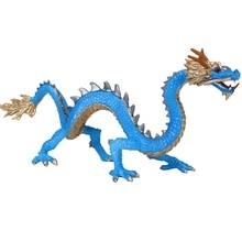 Моделирование мифологии Восточный Дракон животное модель игрушки