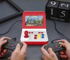 Image 1 - المحمولة الرجعية وحدة تحكم بجهاز لعب محمول صغير 4.3 بوصة 16 جرام 2000 ألعاب الفيديو الكلاسيكية الأسرة لعبة وحدة التحكم هدية الرجعية ممر
