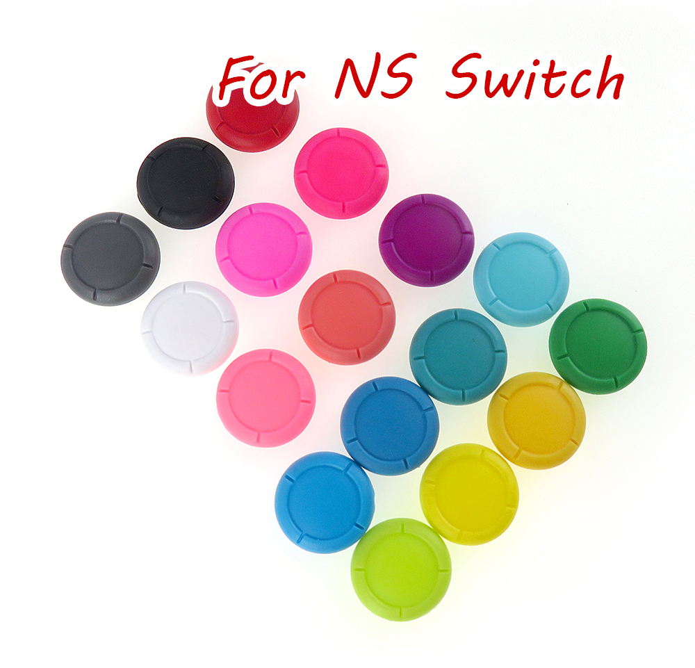 6 uds. Pulgar analógico 3D para Nintendo Switch NS Joy Con tapas de Joystick piezas de repuesto Kit Mod para JoyCon