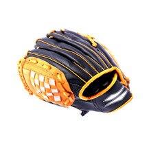 Детские тренировочные уличные бейсбольные перчатки гибкие мягкие спортивные регулируемые Ловца удобные игры софтбол перчатки