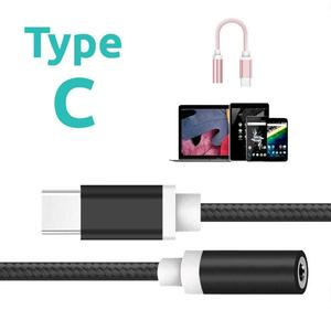 USB Type-C To 3.5mm Earphone Headphone Cable Adapter USB-C To 3.5 Mm Jack Aux Cable For Samsung Galax Huawei Xiaomi Moblie Phone