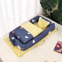 Baby Nest Bed Crib With Quilt Portable Removable Washable Crib Travel Bed For Ch