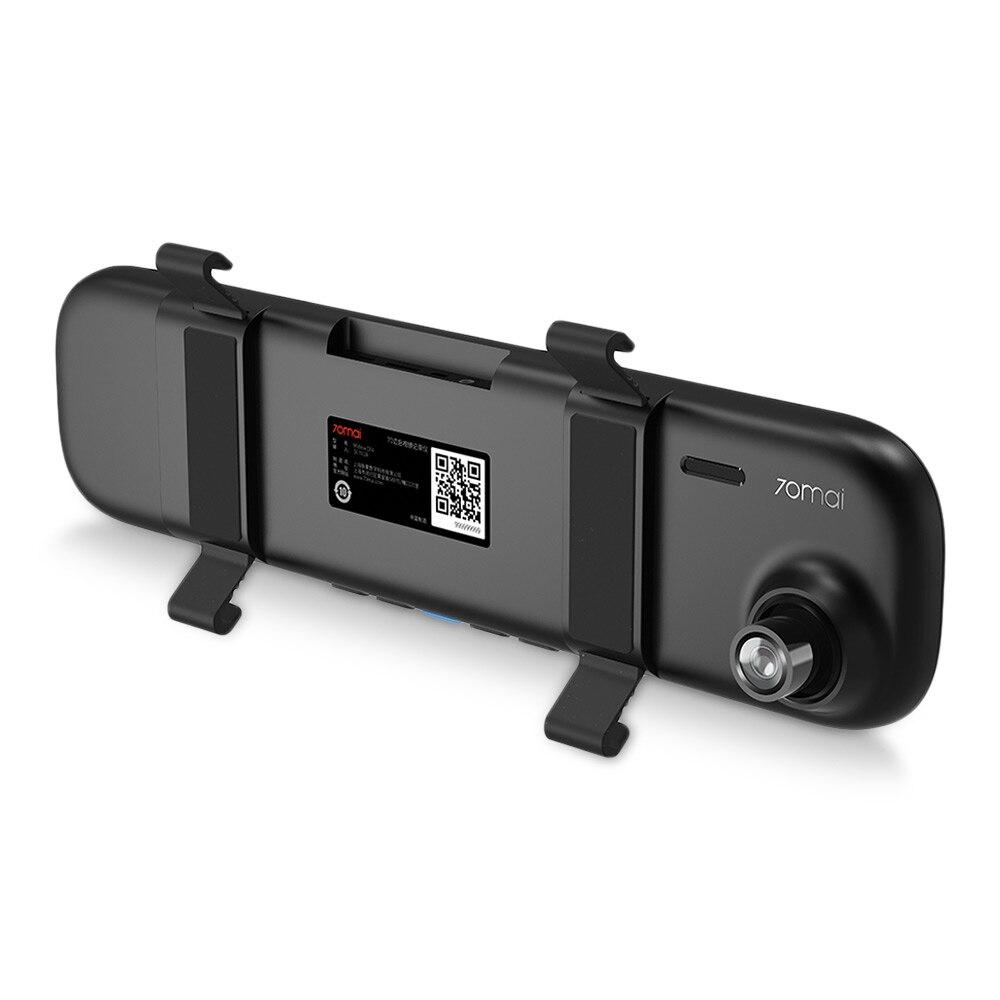 Xiaomi 70mai D04 WiFi DVR 5-дюймовый IPS экран IMX323 Автомобильный видеорегистратор ночного видения WDR g-сенсор парковочное наблюдение