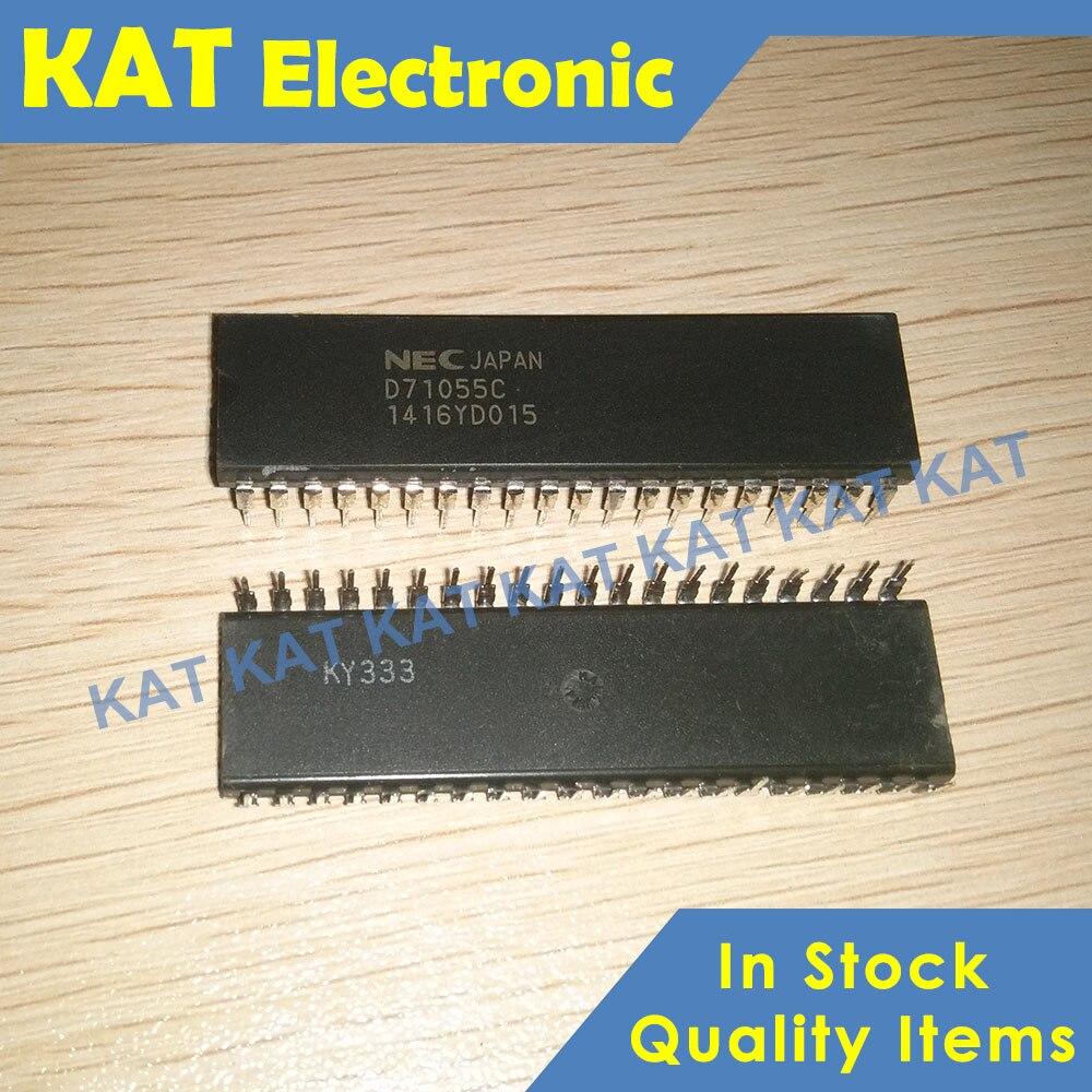 D71055C UPD71055C UPD71055C-10 DIP-40 Low-power CMOS Programmable Barallel Interface Unit