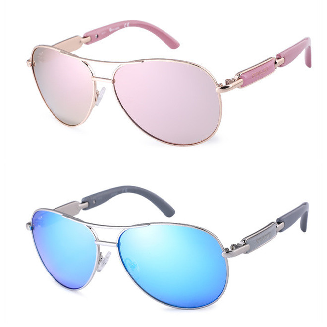 FENCHI Polarized Sunglasses Women Vintage Brand Glasses Driving Pilot Pink Mirror sunglasses Men ladies oculos de sol feminino 16