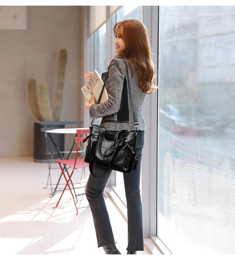 VMOHUO Messenger Bag Women's Ladies Hand Bag Women Leather Handbag Casual Tote Bag Bolsas Femininas Female Shoulder Bag (12)