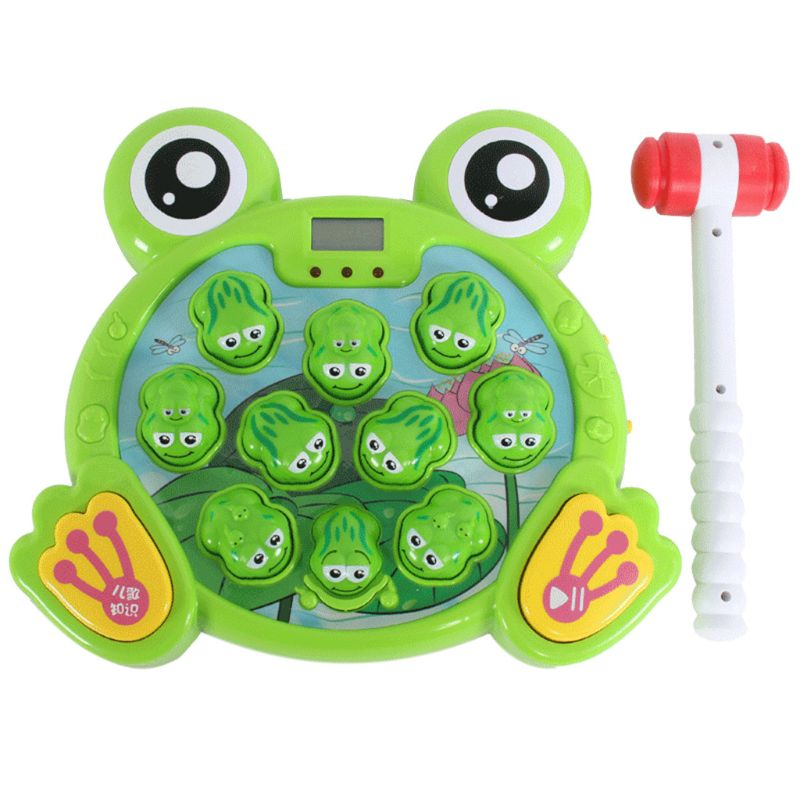Frog Pound Game A Developmental Toy For Girls That Helps Fine Motor Skills 2020 Hot Sale