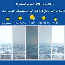 Sunice 1.52x0.9m Car window film 75%-45%VLT smart photochromic film anti-uv sun control nano ceramic solar tint