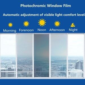 Image 3 - Sunice 2 шт. комбинации фотохромные пленки, нано керамическая тонировка на солнечной батарее 75 45% VLT Солнечная Защитная пленка на окна самоклеящаяся