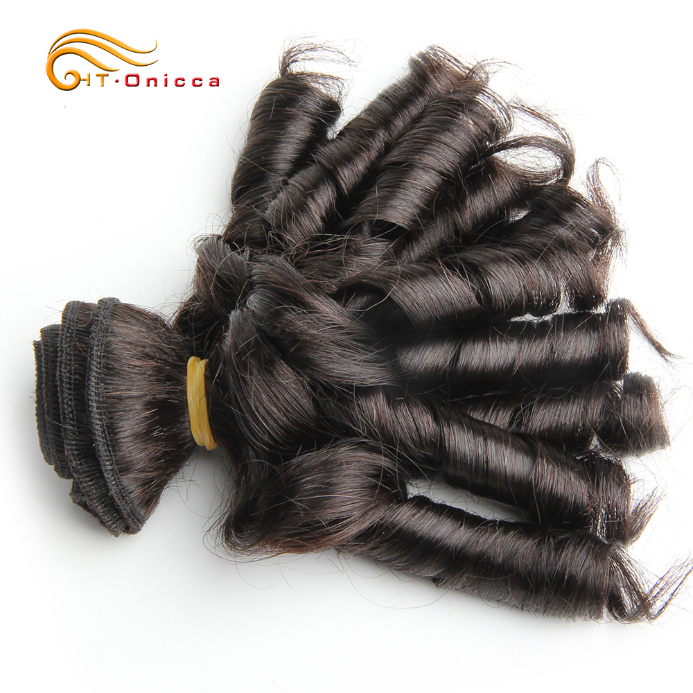 Curly Hair Bundles 6pcs 100% Human Curly Hair Double Drawn  Natural Color  Hair s 6