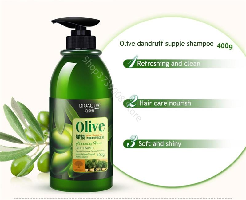 o cabelo oliva anti-caspa shampoo óleo cachos