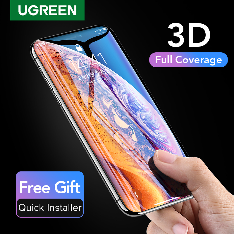 Ugreen Protective Glass On The For iPhone 7 8 6 6s Plus 3D Tempered Glass For iPhone 7 Glass Screen Protector Protection Film