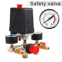 90-120PSI Regulator ciśnienia sprężarki powietrza Regulator ciśnienia trwały przełącznik sterujący zawór PUO88