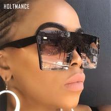 Platz Übergroßen Sonnenbrille Frauen Retro Big Rahmen Driving Sonnenbrille Flache Top Gafas Marke Reis Design Verbunden Schatten UV400