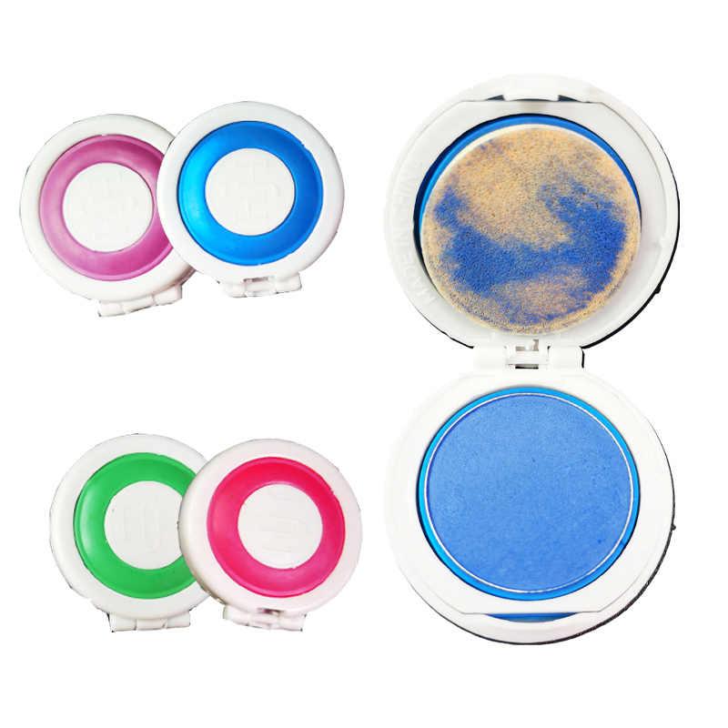 DIY Pewarna Rambut Hot 4 warna Rambut Chalk Powder Eropa Sementara Pastel Pewarna Rambut Warna Cat Kecantikan Lembut pastel Salon