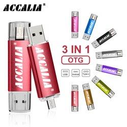OTG 3 w 1 pendrive 128GB 64GB cle pamięć usb 32GB 16GB pen drive 8GB 4GB flash usb piórkowy C klucz pamięć usb prezent biznesowy|Dyski Flash USB|Komputer i biuro -