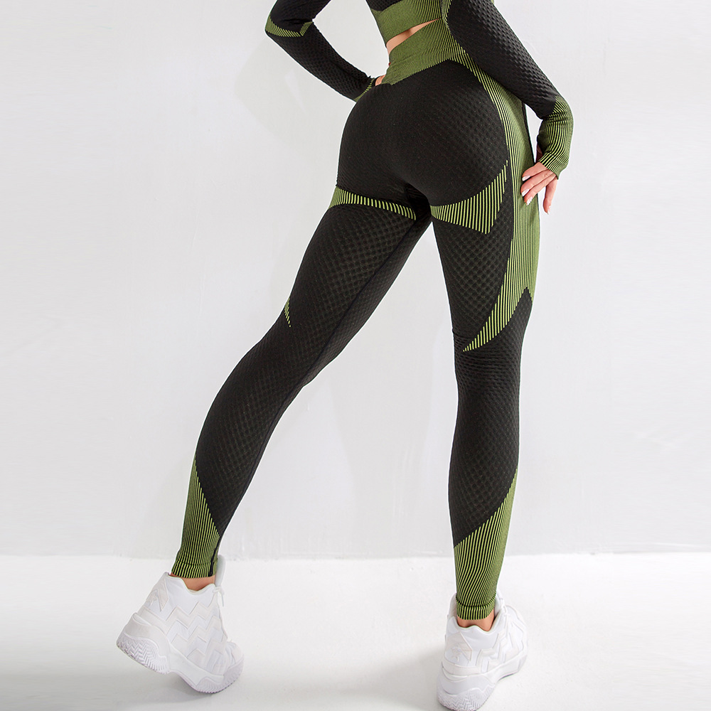 INS New Style Europe And America Peach Hip Yoga Pants Women's High Waist Yoga Pants Wicking Breathable Gymnastic Pants