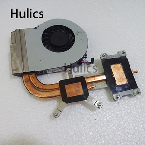 Hulics for HP pavilion G4 G6 G7 G4-2000 G6-2000 cooling heatsink with fan 683192-001 685479-001 683028-001 683193 680550-001(China)
