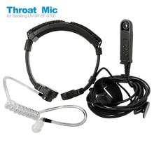 Radio Baofeng UV 9R Plus Talkie Walkie Air Tube Throat Vibration Headset Headphone for UV XR A 58 GT 3WP Walkie Talkie Earpiece