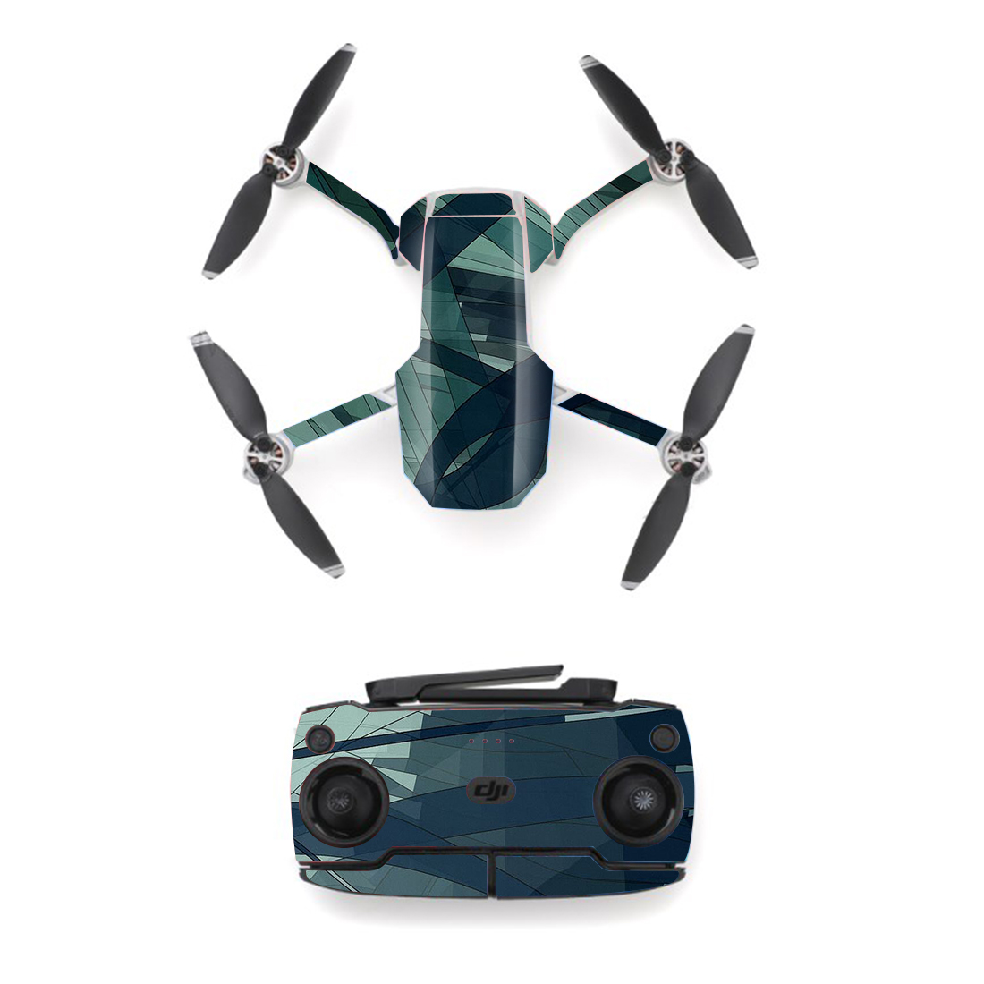 Colorful Style Skin Sticker For DJI Mavic Mini Drone And Remote Controller Decal Vinyl Skins Cover M0089
