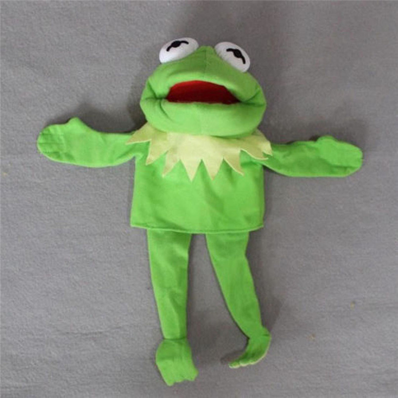 Sesame Street The Muppet Show Kermit Frog Puppets Plush Toy Doll Stuffed Toys A Birthday Present For Your Child #30D12 (2)