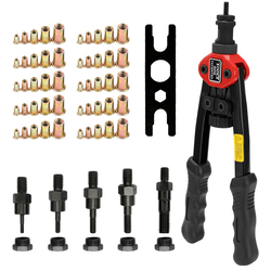 BT-606/05/17 Riveter Gun tool Hand Insert Rivet Nut Tool BT-606 Double Insert Manual Rivet Machine Riveting Tools with Nuts